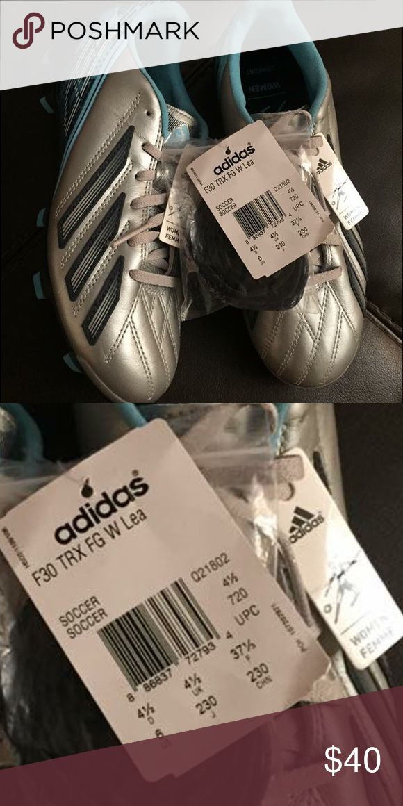 ADIDAS F30 TRX FG Soccer Cleats NWT women size 6 ADIDAS F30 TRX FG Soccer Cleats women size 6, Extra laces • NWT • NO BOX 🚫NO TRADES🚫 Adidas Shoes Athletic Shoes
