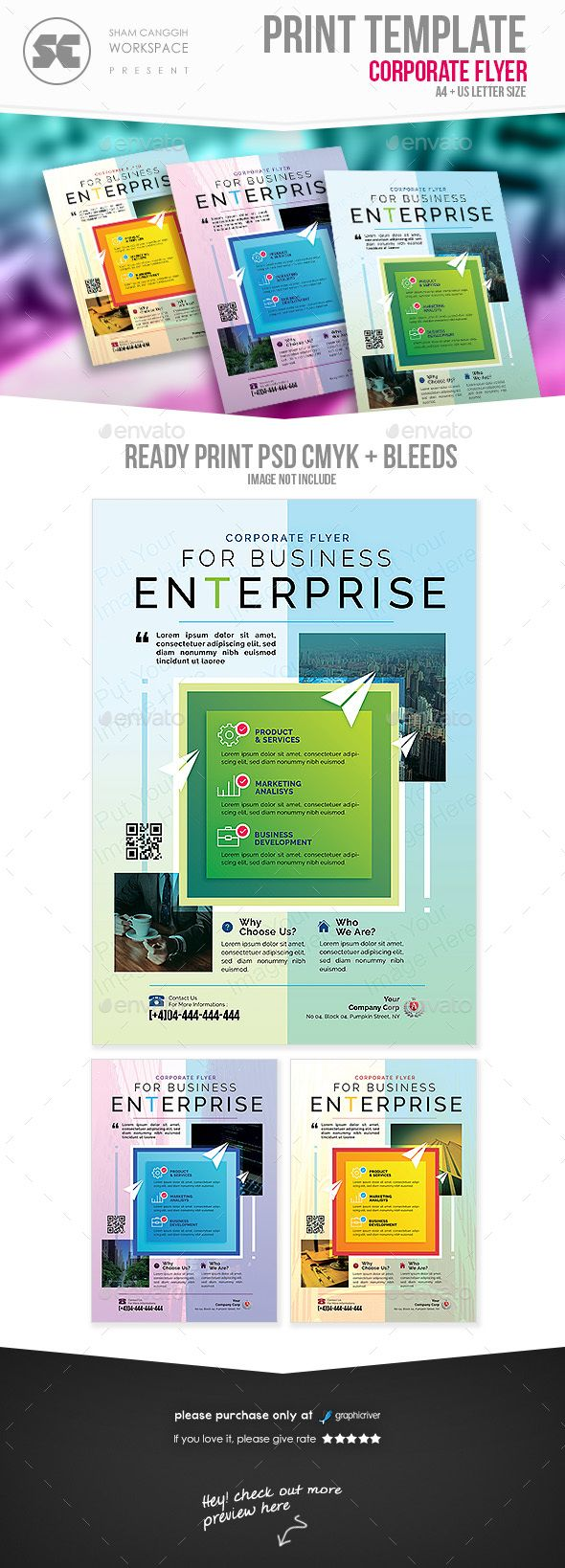 #Business #Flyer - Corporate Flyers