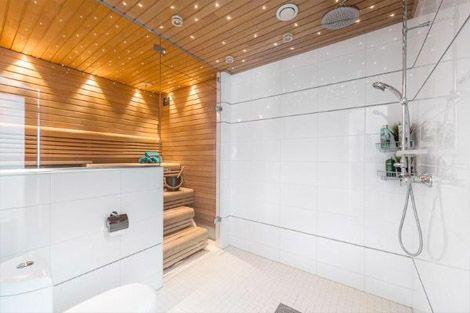 Modern finnish bahtroom/sauna