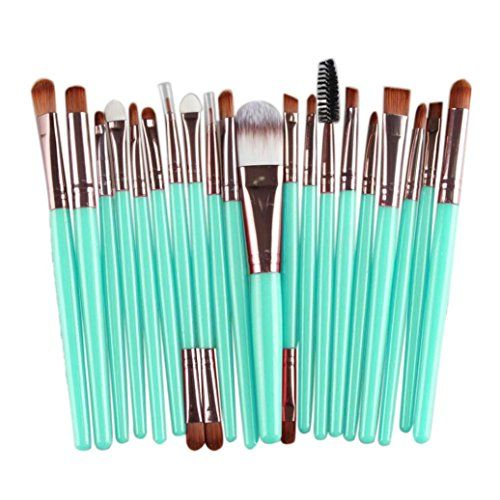 Susenstone 20 pcs Makeup Brush Set tools Makeup Toiletry Kit Wool Make Up Brush Set Rose Gold -- Details can be found by clicking on the image.