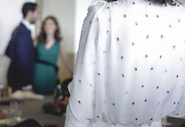 vestido de Cristina Valenzuela