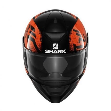 Casco Shark D-Skwal Hiwo Black/Orange/Black Mat HE4006EKOK.Donde comprar cascos de moto integral Shark D-SKWAL Hiwo.