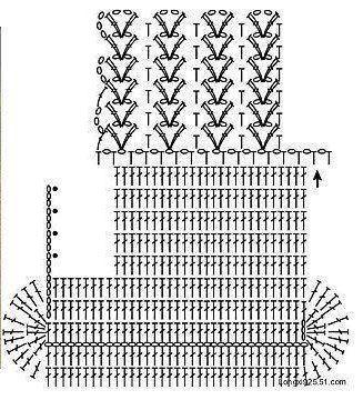 Patrón #1078: Bolso a Crochet | CTejidas [Crochet y Dos Agujas]