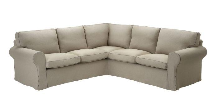 EKTORP corner sofa, Risane natural #IKEA #PinToWin