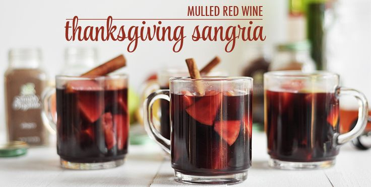 Use this incredible recipe to make the best Thanksgiving Sangria ever! It's the perfect cocktail to serve on Thanksgiving.