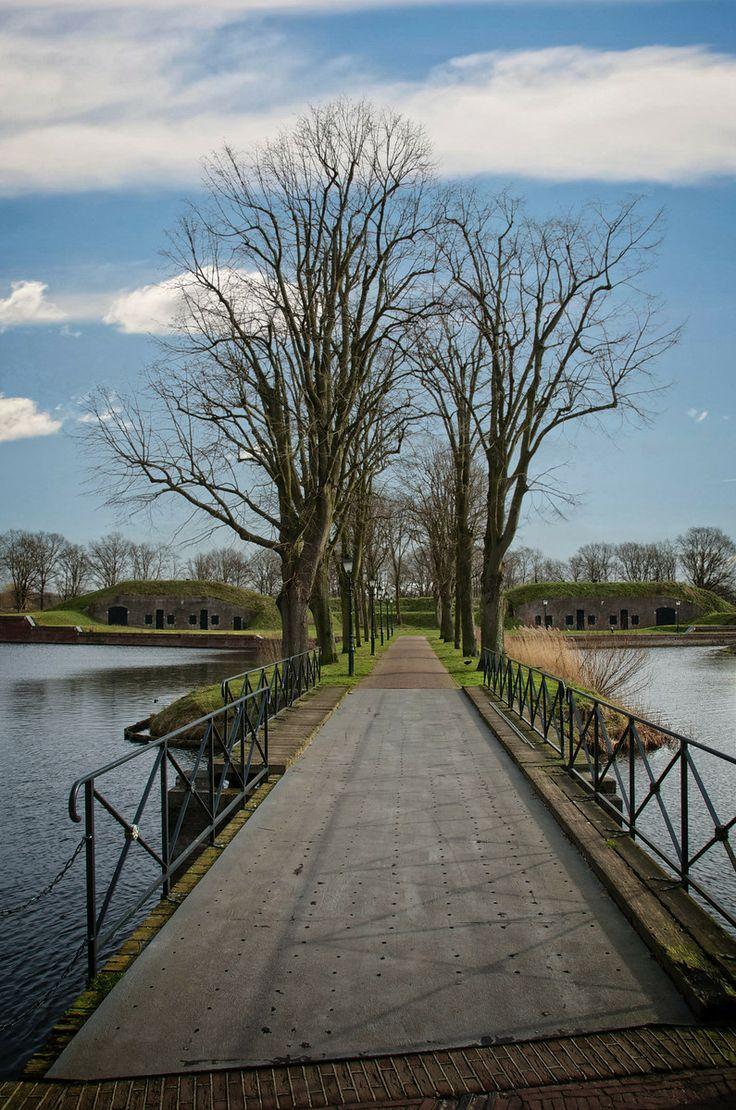 Fiets en Wandelpad, Utrechtse Poort, Vesting, Naarden.