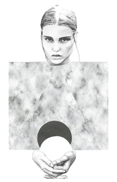 Fashion illustration // Lucie Birant