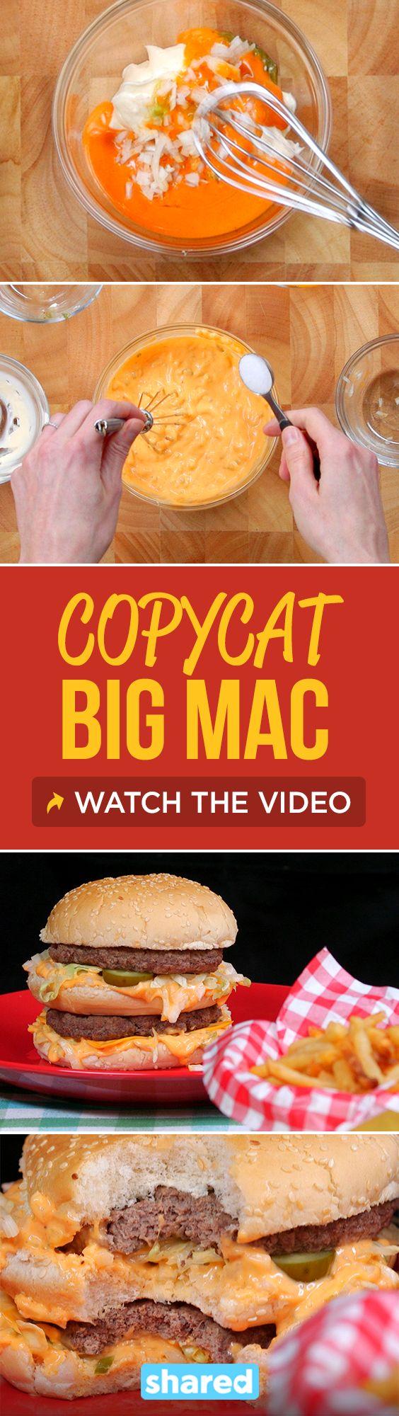 Copycat Big Mac                                                                                                                                                                                 More