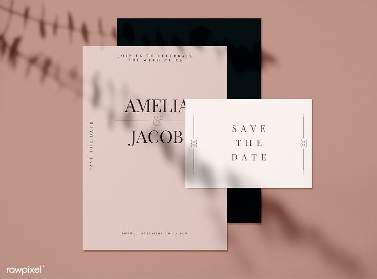 Save The Date Wedding Invitation Card Mockups Free Image By Rawpixel Wedding Invitation Cards Wedding Invitation Card Design Vintage Wedding Invitation Cards