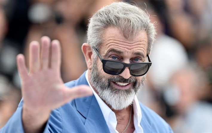 Download imagens Mel Gibson, O ator americano, O casaco azul, homem bonito, retrato, sorriso