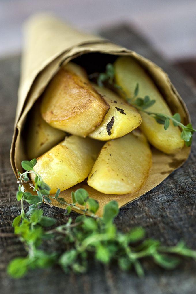 Patate al forno con la maggiorana - (C) giulioriotta.com