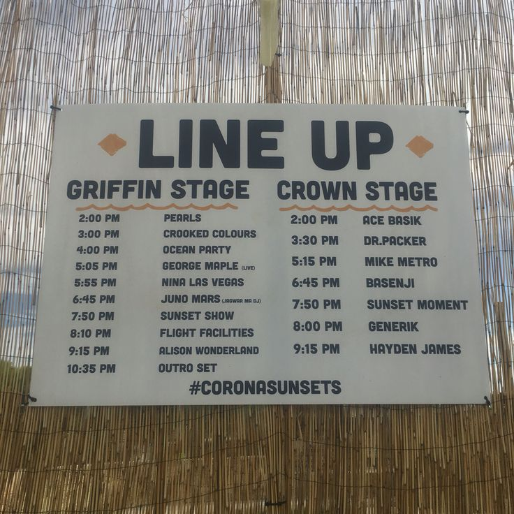 Corona Sunsets Festival Fremantle