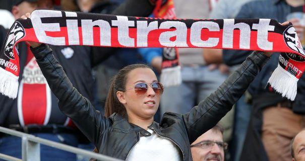 Eintracht Frankfurt: Jubel, Banner, Choreos: Eintracht, Deine ...