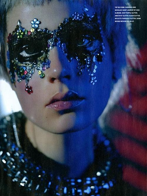 Caroline Brasch Nielsen by Richard Bush for i-D Pre-Spring 2014