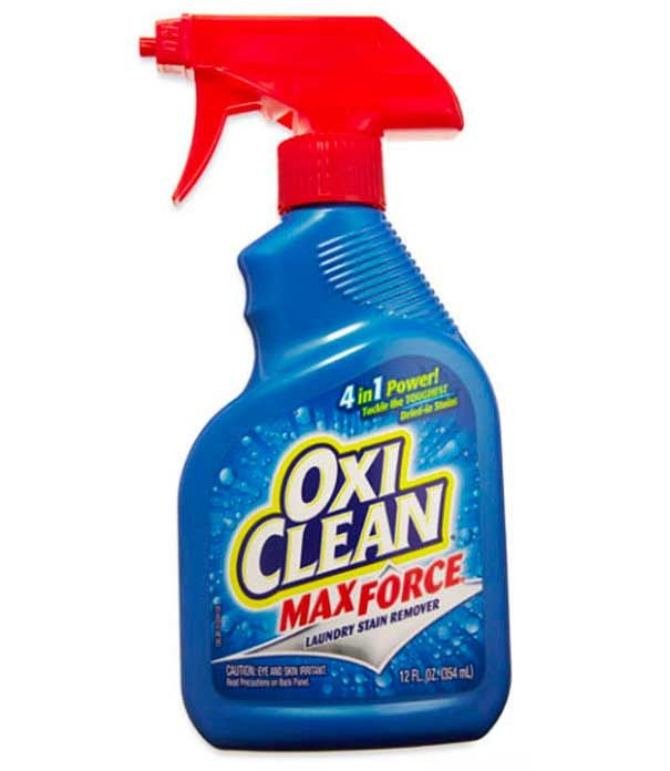 Spray de lavandería pretratante:  ¡Utilice esto para ayudar a quitar pegatinas que no quieren salir!