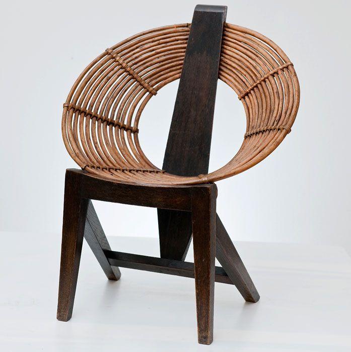 Władysław Wołkowski; 'O' Chair, 1956.