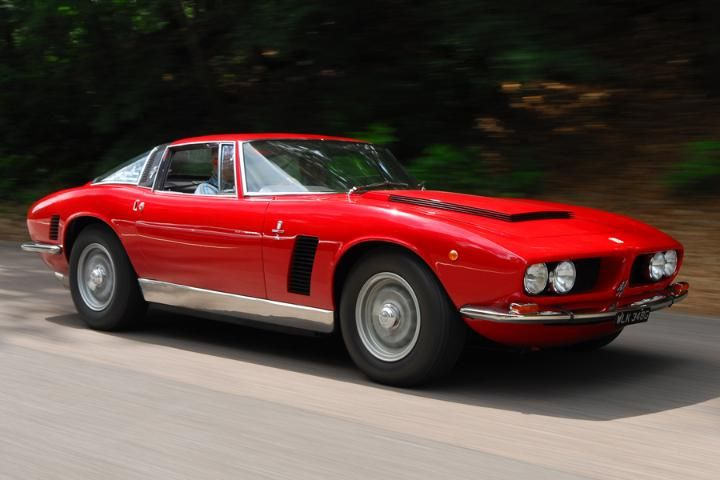 Iso Grifo. The company is probably better known for producing the Isetta bubble car (which was licenced to BMW, among others) in the 1950s. The prototype Grifo was revealed at the Turin show in 1963 to overwhelming approval. The first production cars used reassembled and blueprinted Chevrolet Corvette 5.4-litre engines until a 7.0-litre option was introduced in 1968.