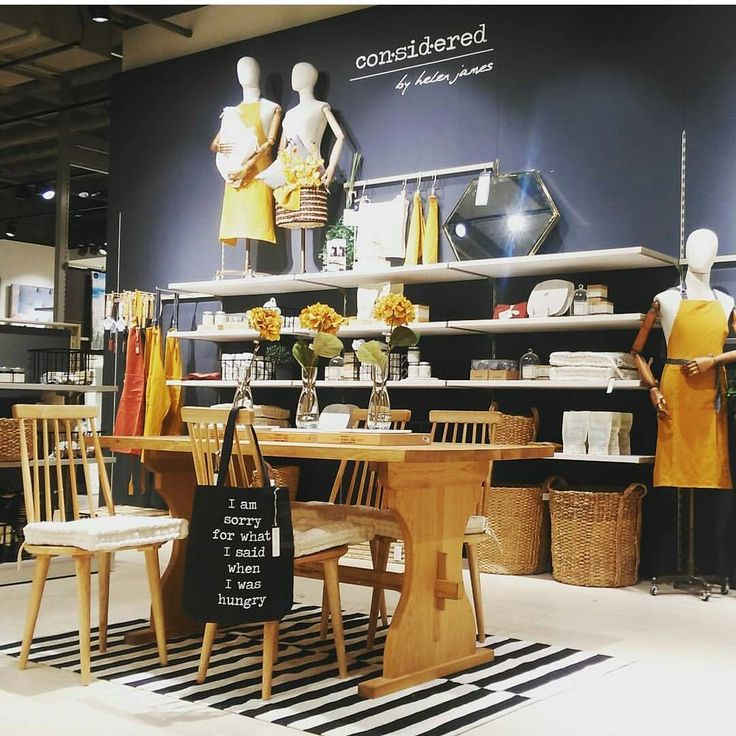 "DUNNES STORES, Dublin, Ireland, ""CON-SID-ERED"", (Mustard and monochrome by Helen James), photo by Justine Murray, pinned by Ton van der Veer"