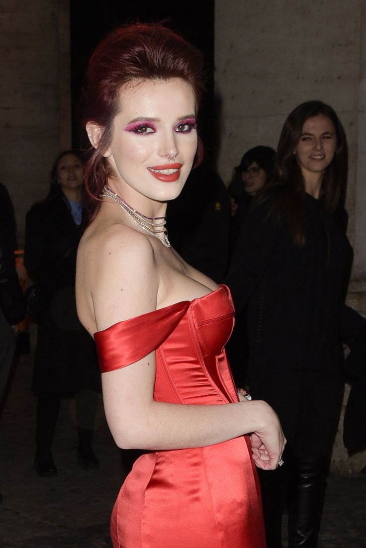 """""""Disney said, 'you're lucky Bella has such a fanbase that we can't afford to fire her at this moment in time,'"""" Thorne revealed. """"'But if she does one more other thing, we will."""" All because of a bikini photo! Click above to see the photo that almost got her fired."""