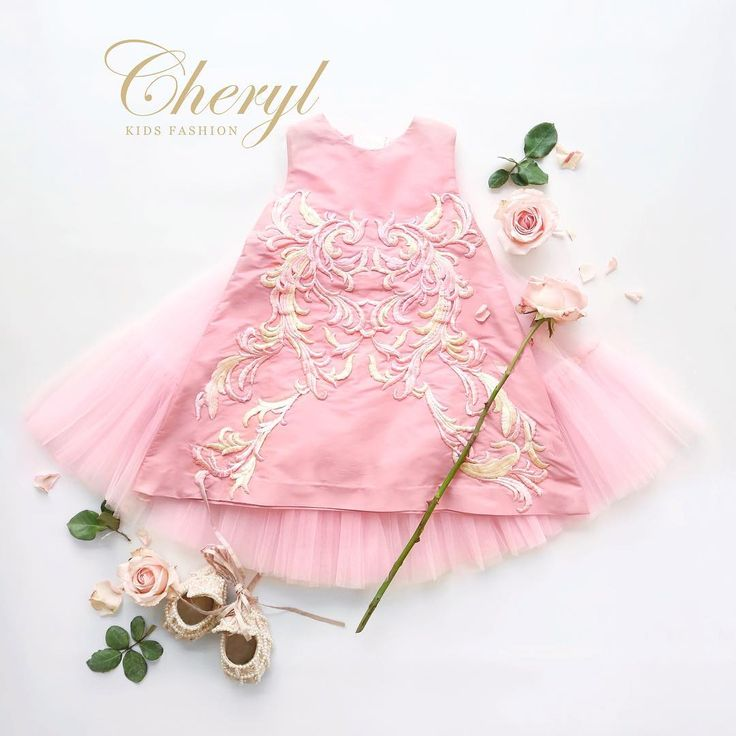 CHERYL KIDS FASHION Pink Britanny Dress (I 08/17)