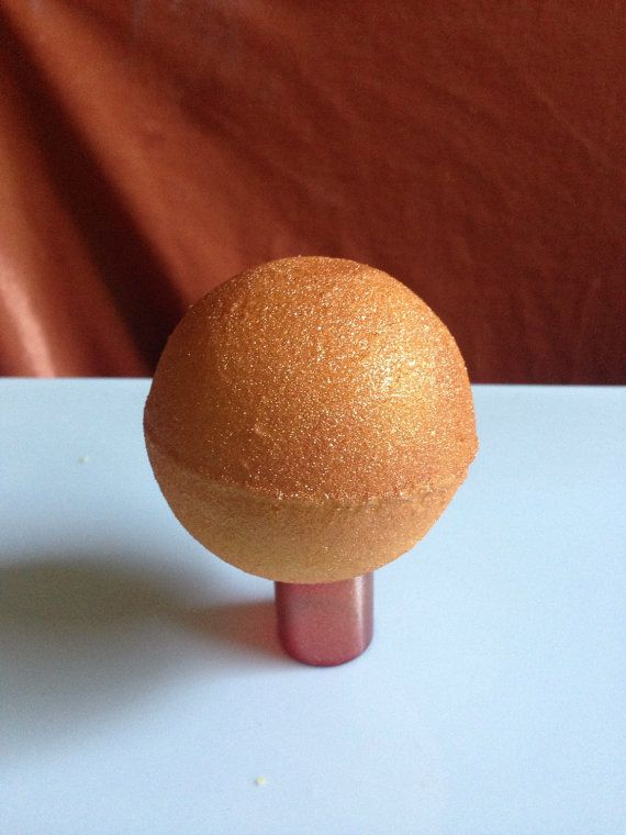 Surprise Charm Golden Snitch Bath Bombs by GeorgiaCharms - Harry Potter Bath Bomb!!! Quidditch Golden Snitch with a charm in the center!