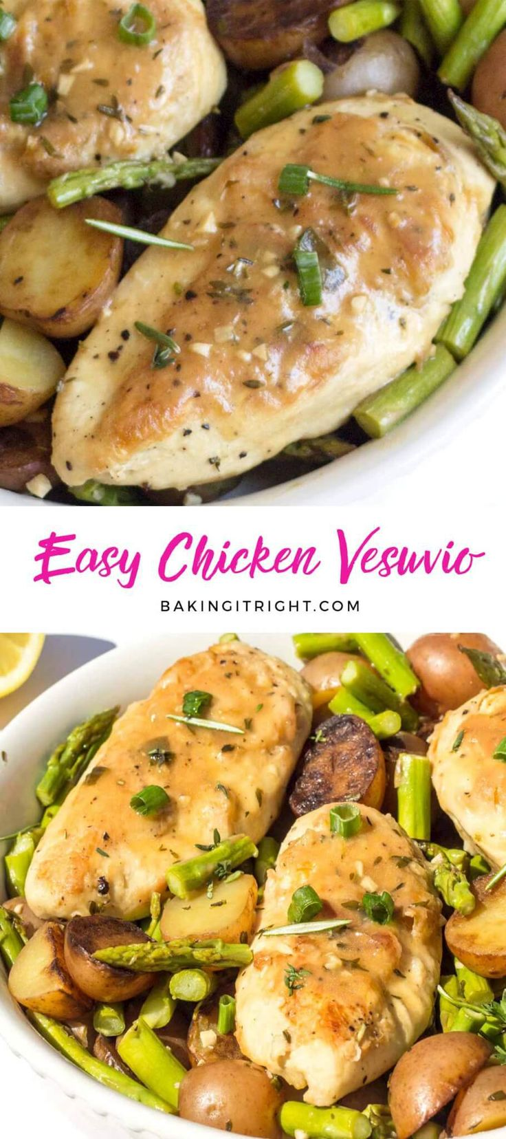 The 25 best vesuvio potatoes ideas on pinterest chicken vesuvio easy chicken vesuvio an easy and moist chicken dish with white wine red potatoes forumfinder Choice Image