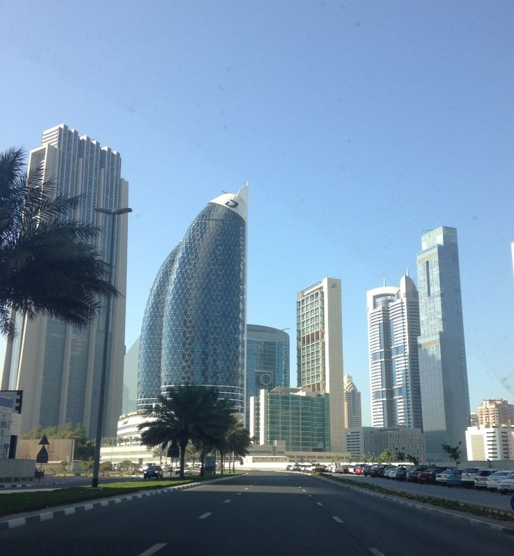 Damac Towers of Dubai are known for their unique design.