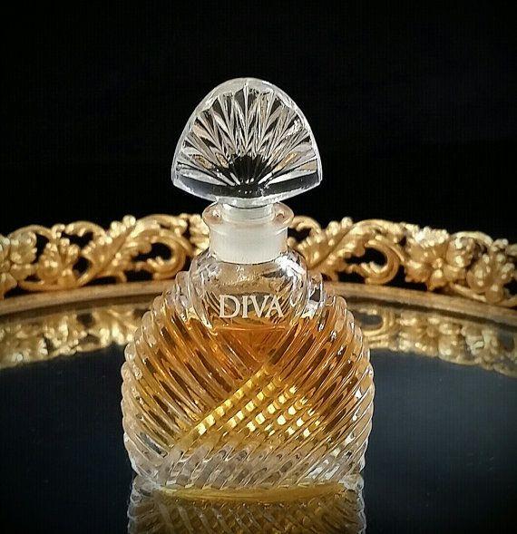 Mini Diva de cristal botella de Perfume sin uso comercial Parfum coleccionables miniatura