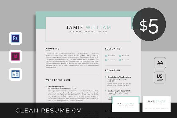 Resume\/CV Set - Galaxy by Typography Prime on @creativemarket - resume prime