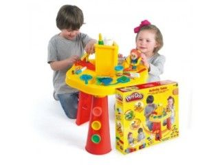 Play Doh Activity Table Modeling Clay Pencils and Crayons Was: £30.99 | Now: £24.99 – You Save: £6.00 (19%) http://tidd.ly/ce144144