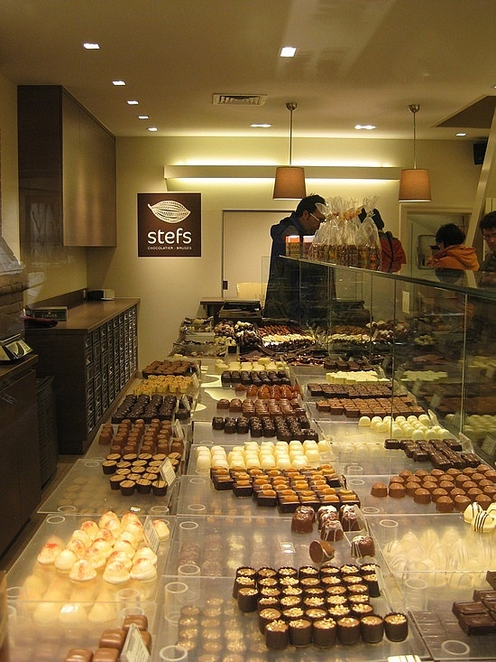 Chocolate shop, Bruges-every chocoholic's dream...yum