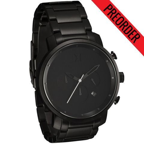 Chrono All Black | MVMT Watches  I wanna give this as a gift to my man, someday.