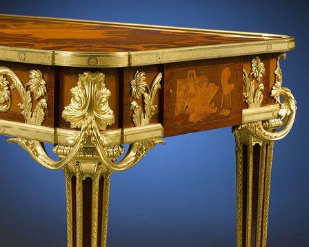 Antique Furniture, Antique Desk, Beurdeley, Circa 1880 ~ M.S. Rau ...