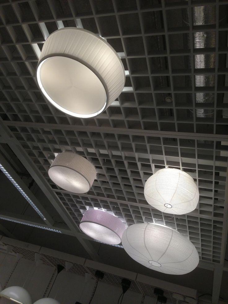 Ikea plafonniere slaapkamer.