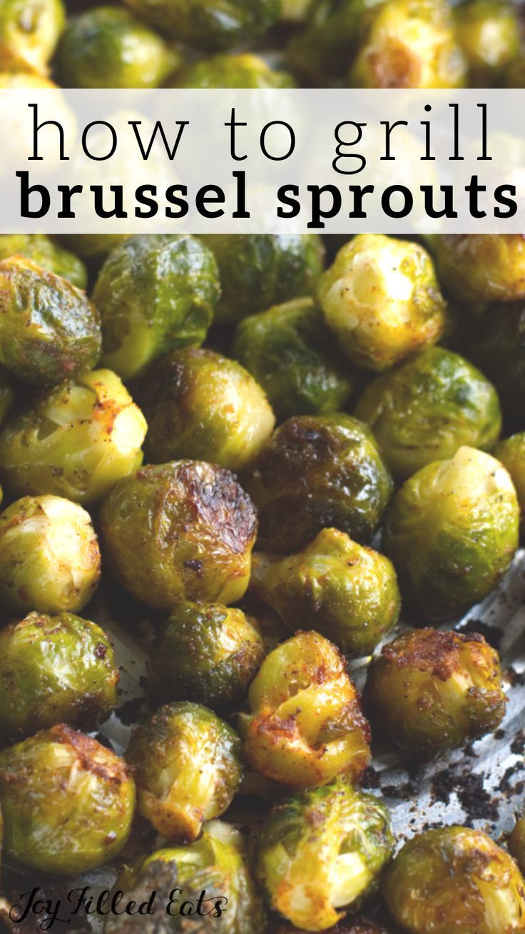 Grilled Brussel Sprouts Low Carb Keto Gluten Free Thm S Grilled Brussel Sprouts Brussel Sprouts Sprout Recipes