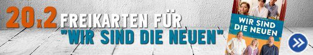 """20x2 Freikarten gewinnen - """"Wir sind die Neuen"""" - http://weinblog.belvini.de/freikarten-wir-sind-die-neuen"""