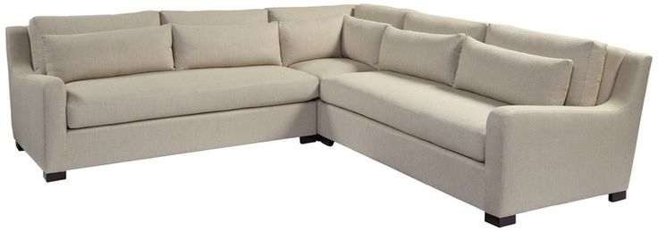 Galveston Sectional Sofa  Transitional, Upholstery  Fabric, Sectional Sofa by Tomlinson