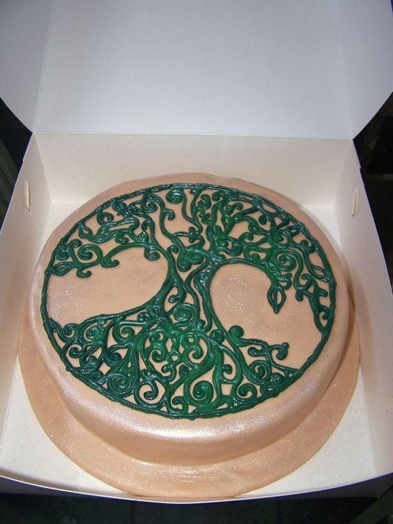 celtic tree of life wedding cake - Google Search