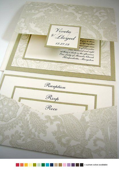 Renaissance Writings Invitations Wedding Invitations Photos on WeddingWire