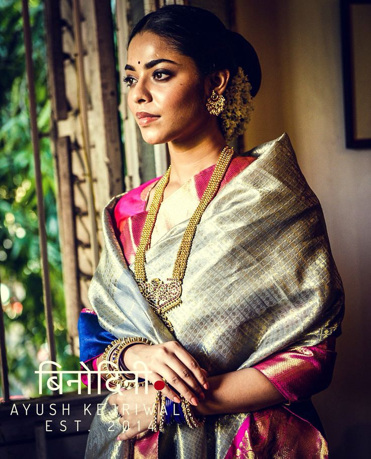 Kanjiveram Saree by Ayush Kejriwal For purchases email me at…