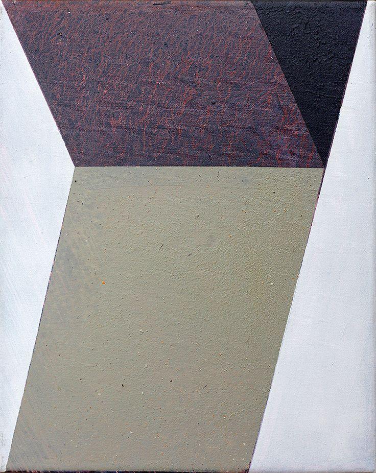 """""""Ecken 3"""", 30 x 24 cm, acrylic on canvas, Marco Kaufmann 2015"""