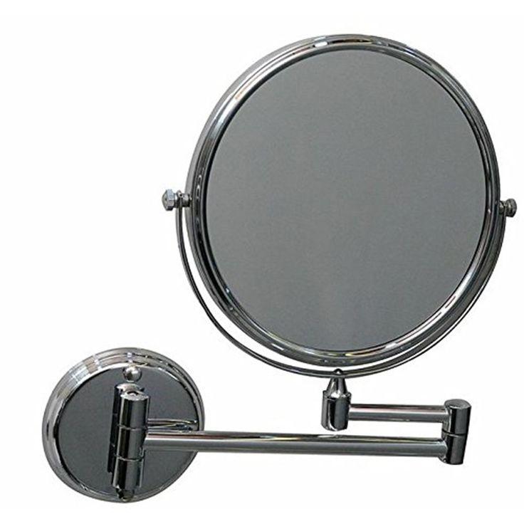 NSC Bathroom Shaving Mirror - Round - 13x2.5x13 #shaving_mirror #Bathroom_shaving_mirror