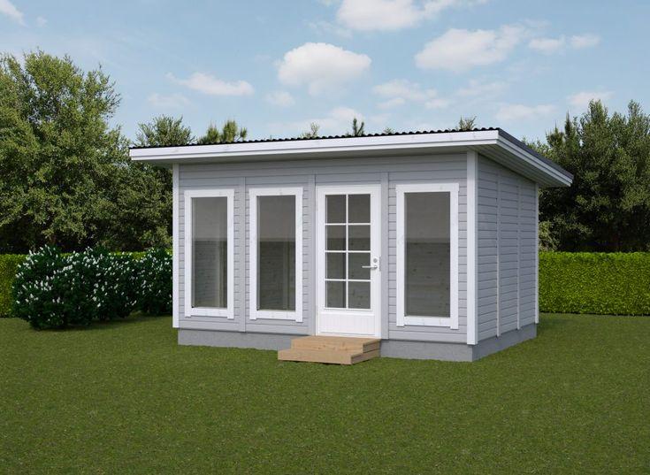Aitat on varustettu vakiona karmillisella 9×19 ovella, jossa kuvien mukaan iso lasi sekä lukkorunko. Ikkunat on 600×1500 kiinteällä lasilla. Rakennukset saa pulpetti- tai harjakattoisena samaan hintaan. Kaikkien elementtien paikkaa voi vaihtaa keskenään ja oven/ikkunoiden paikat voivat olla missä tahansa kohtaa rakennusta. Paikat voit päättää asennusvaiheessa. Tarvittaessa ovia ja ikkunoita voi myös lisätä tai vähentää tilausvaiheessa. …