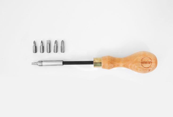 Screwdriver Set by Eleman'tary Design — GOODS WE LIKE