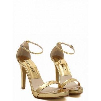 Buckle High Heel Elaborate Sandals Shoes