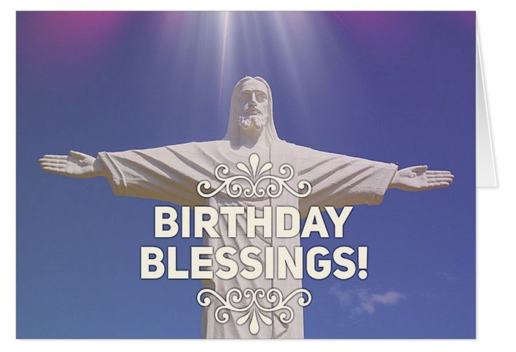 "Your birthday is a very special day. It's a day to count your blessings! A time for gratitude and appreciation. This incredible ""Christ the Redeemer"" statue in Brazil offers all of us an abundance of blessings. What will you write inside?"