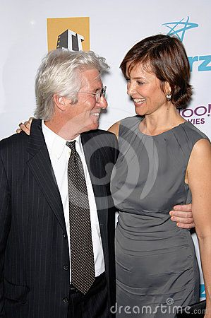 © Featureflash | Dreamstime.com - Richard Gere & wife Carey Lowell at the Hollywood Film Festival's 11th Annual Hollywood Awards at the Beverly Hilton Hotel. Gere was named Actor of the Year. October 23, 2007 Los Angeles, CA Picture: Paul Smith / Featureflash