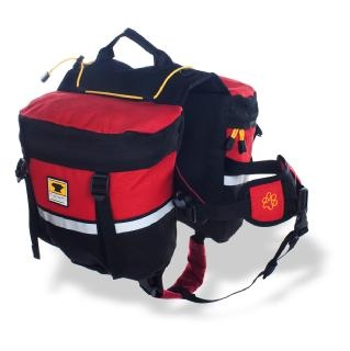 A pack for Indie to carry his own survival gear:  Mountainsmith Dog Pack $48