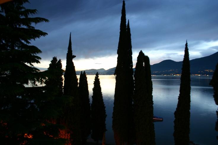 Sunset at Torri Del Benaco Lago di Guardia, North Italy  DEESIGNETPHOTO