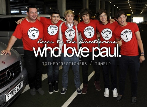 I want to meet him just as much as the boys. I am always talking about it to my mum and friends. During the KCAs I was looking for the boys and I saw Paul an screamed 'OMGGGG PAUL!!!'. Haha, I want to meet Paul Higgins and get a picture with him. xx (: THE END